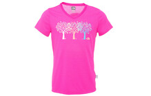 The North Face G S/S Shady Tree Reaxion V-Neck Tee linaria pink